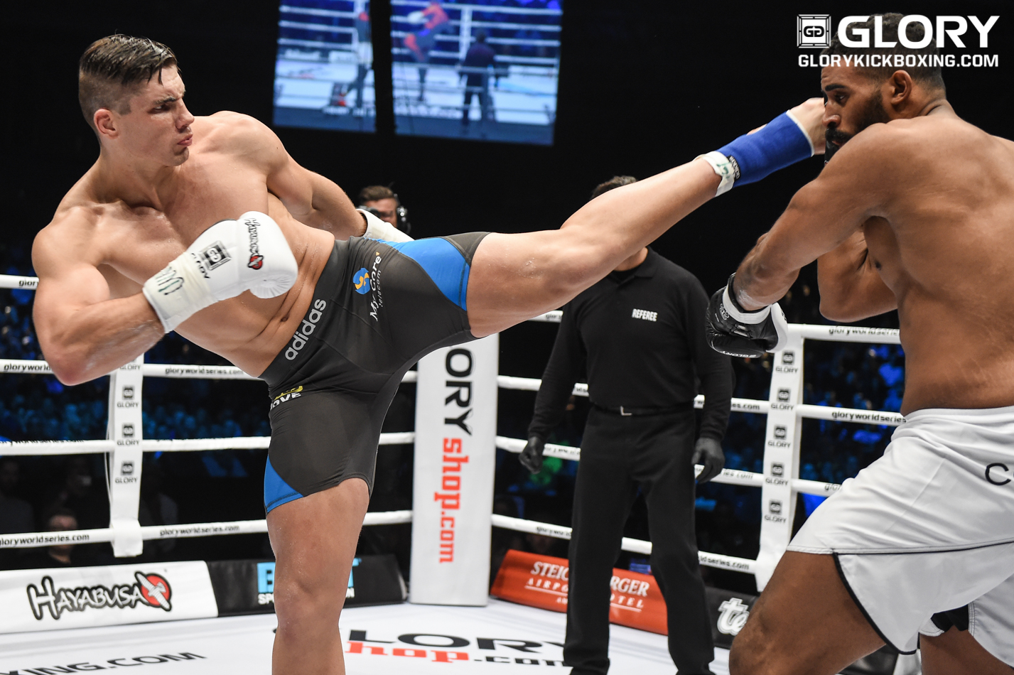 Rico Verhoeven Vs Ismael Lazaar Set For Glory 41 In Holland