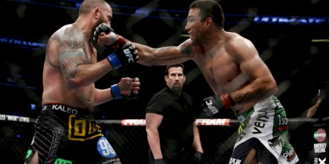 Fabricio Werdum (R) (Esther Lin/MMA Fighting)