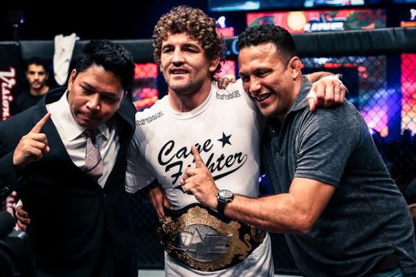 Askren Dominates Aoki In Final MMA Fight