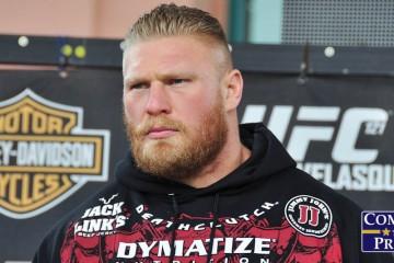 Brock Lesnar (Rob Tatum/Combat Press)
