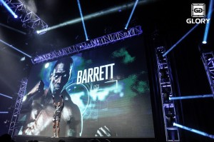 Barrett (James Law/GLORY)