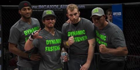Luke Sanders (second from left) (Marshall Boyce/Sherdog)
