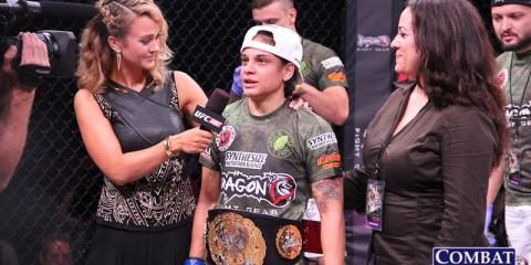 Livia Renata Souza (Jeff Vulgamore/Combat Press)
