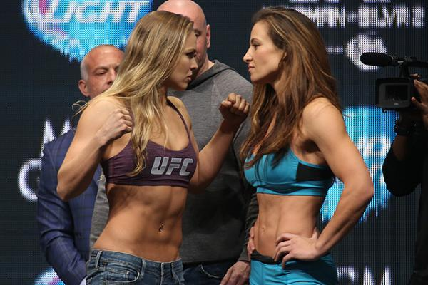 Tate vs. Rousey