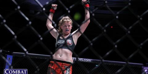 Tonya Evinger (Jeff Vulgamore/Combat Press)