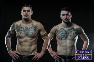 Brian (R) and Chris Camozzi (Phil Lambert/Combat Press)