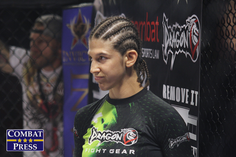 Sijara Eubanks was hospitalized the day before her UFC flyweight fight