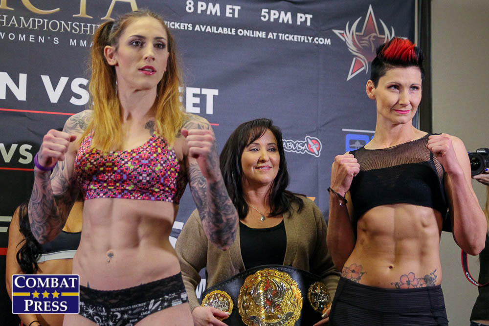 Invicta FC 21 Weigh-ins: Charmaine Tweet, Megan Anderson Cleared for Brawl