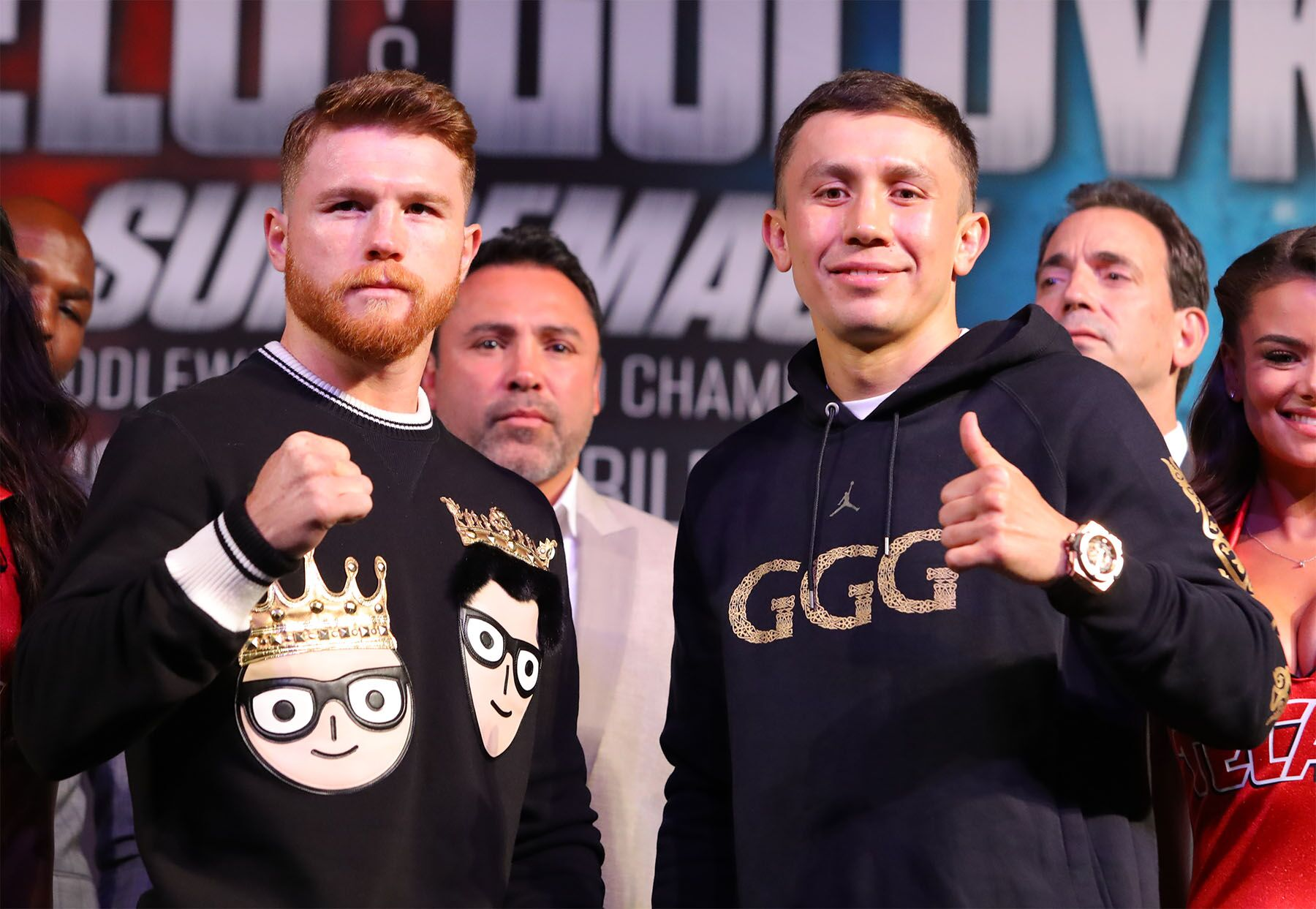 Golovkin and Alvarez victor  was not determined