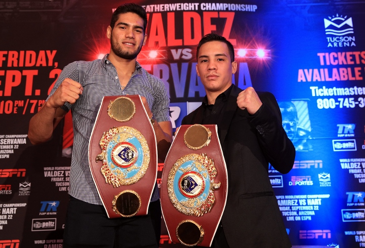 ESPN Boxing: Valdez vs. Servania Results