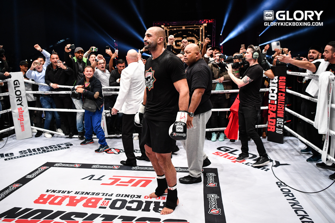 Badr Hari To Rematch Hesdy Gerges At GLORY 51 Rotterdam