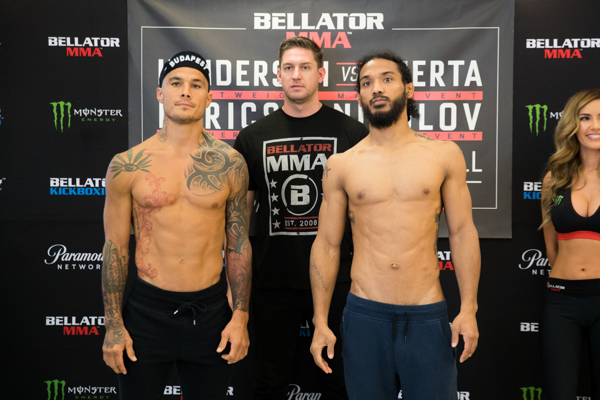 Bellator 196 Henderson Vs Huerta Weigh In Results