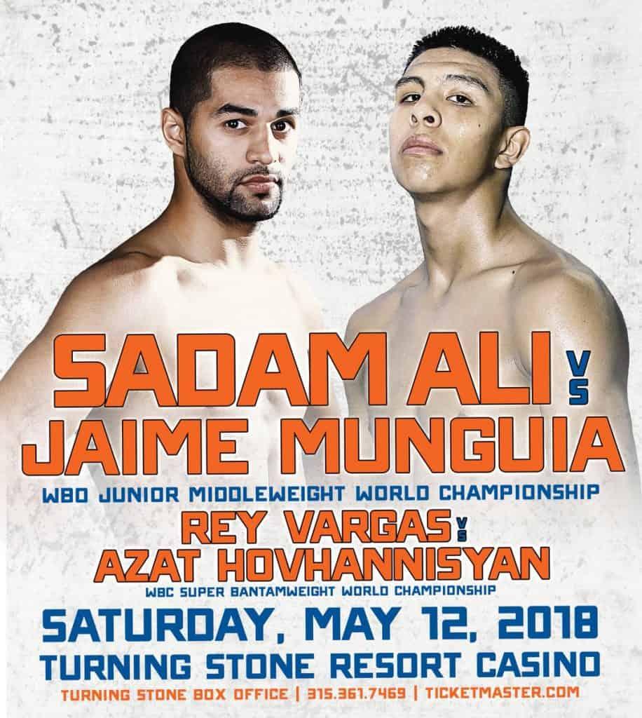 HBO Boxing: Ali vs. Munguia Results