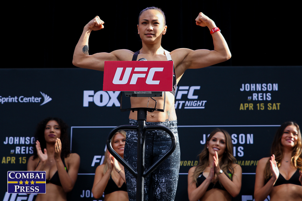 Invicta FC 8 Waterson vs. Tamada weigh-in replay and