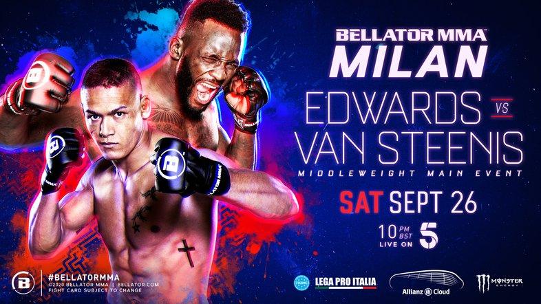 Bellator 254: Edwards vs. Van Steenis Preview and Predictions