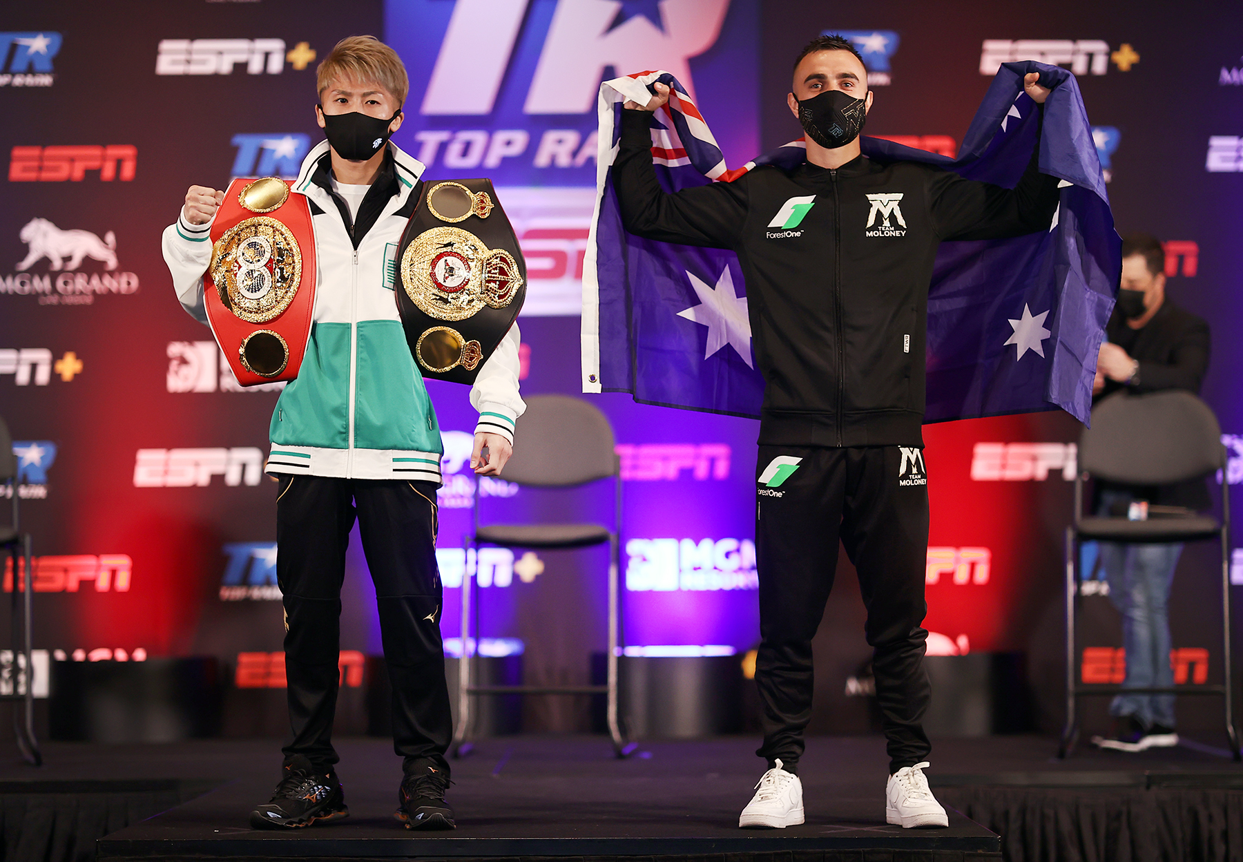 Aussie Jason Moloney goes down in seventh round to unbeaten Naoya Inoue